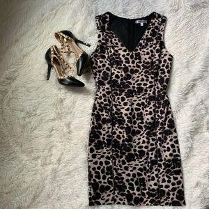 Sexy Jennifer Lopez animal print dress. Size 6
